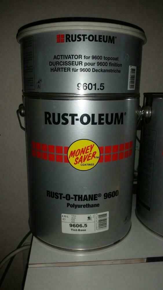 Rust-o-thane 9600 polyurethane geel