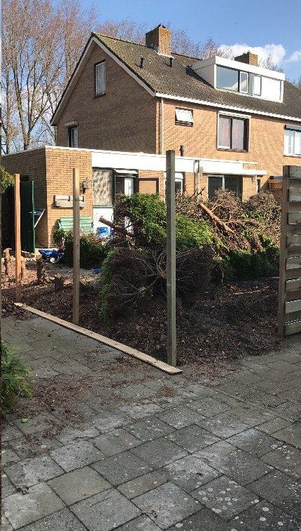 Schuttingen en tuin