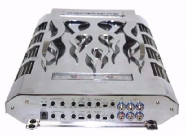 Zware 2 kanalen Audiobahn A2200HCJ versterker 2000 Watt Rms,