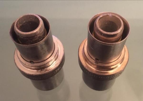 UPONOR VERLOOPKOPP, 2X PERS 25 x 20 mm (2 Stuks).