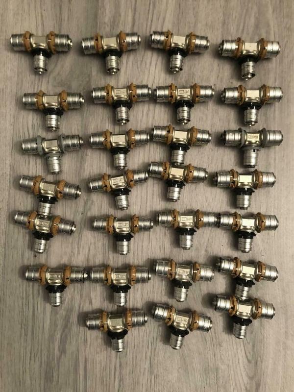 Uponor MLC perskoppeling T-stuk 16 x 14 x 16mm (27 Stuks)