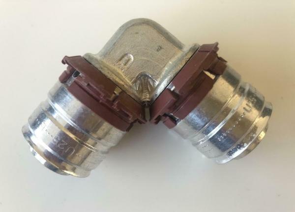 Uponor koppeling knie 25 x 25 mm (1 Stuks)
