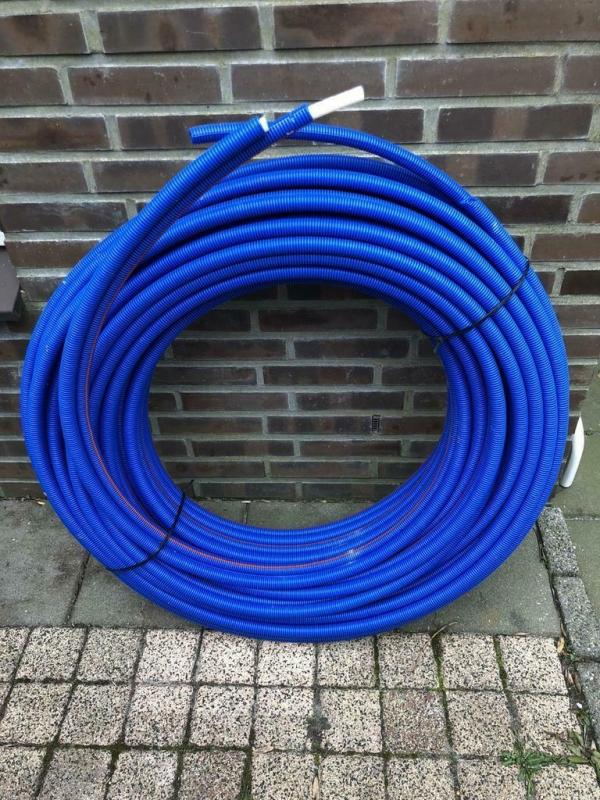 Henco Alupex meerlagenbuis met mantel blauw 14/2 mm(2x 25Mm)