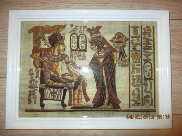 6 Egyptische farao schilderijen uit de oudheden!!!!!!!!!!!!