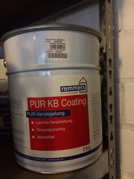 Vloer coating 1 component GRIJS