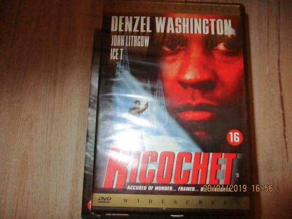 2 x dvd denzel washington
