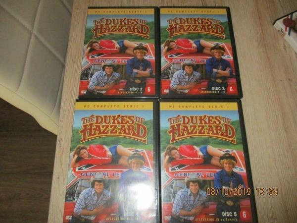 Klassieker 4 dvd boxen dukes of hazzard orig. Ned onderti