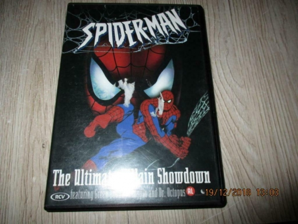 2 x dvd spiderman 1 en 2