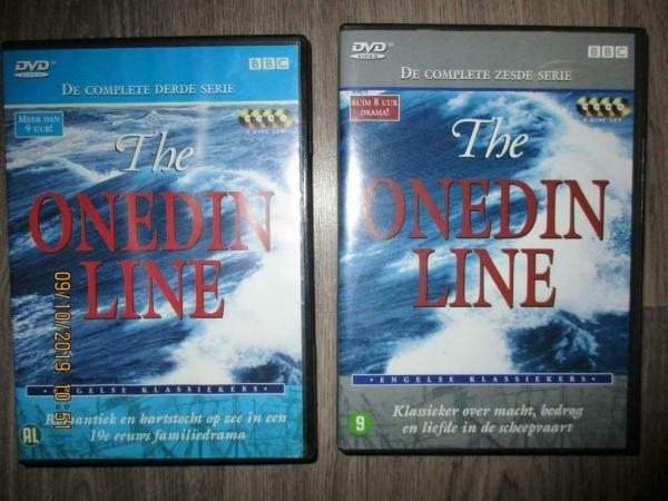 klassieker dvd box Onedin line serie 6 en 3