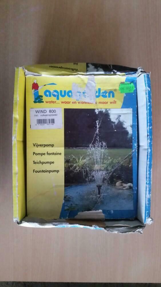 Vijver pomp fontijn