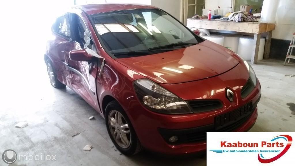 Buitenspiegel Renault Clio III 1.4-16V ('05-'12) Rechts rood