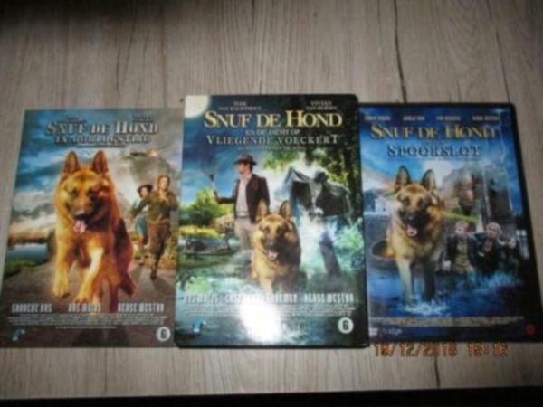 Snuf de hond 3 dvd`s beroemd van tv