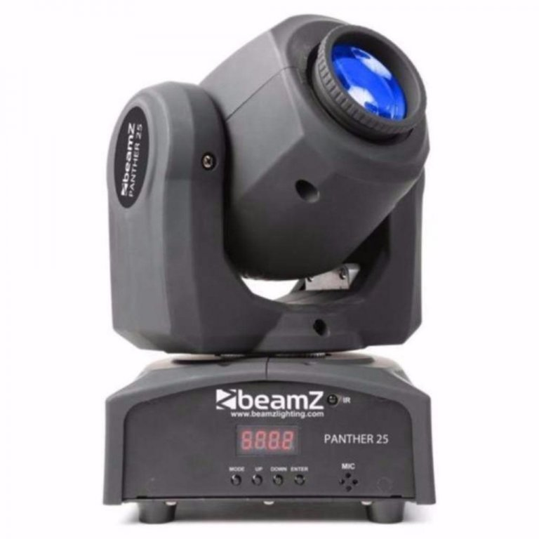 BeamZ Panther25 moving-head LED DMX en Gobo,s (460T)