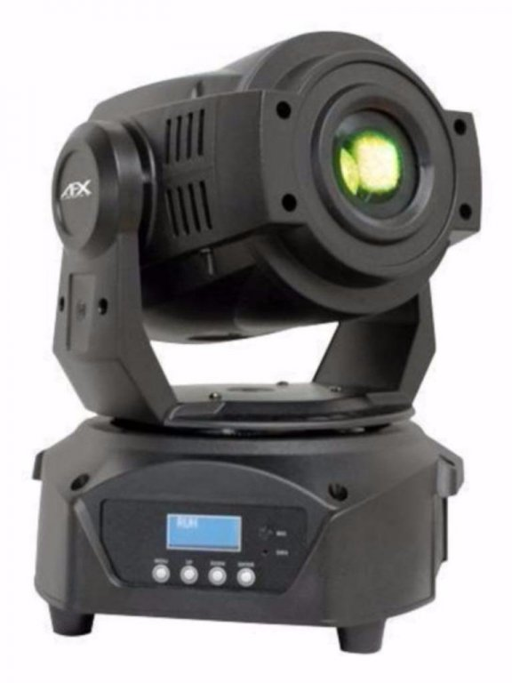 2 led spot moving heads in een flightcase