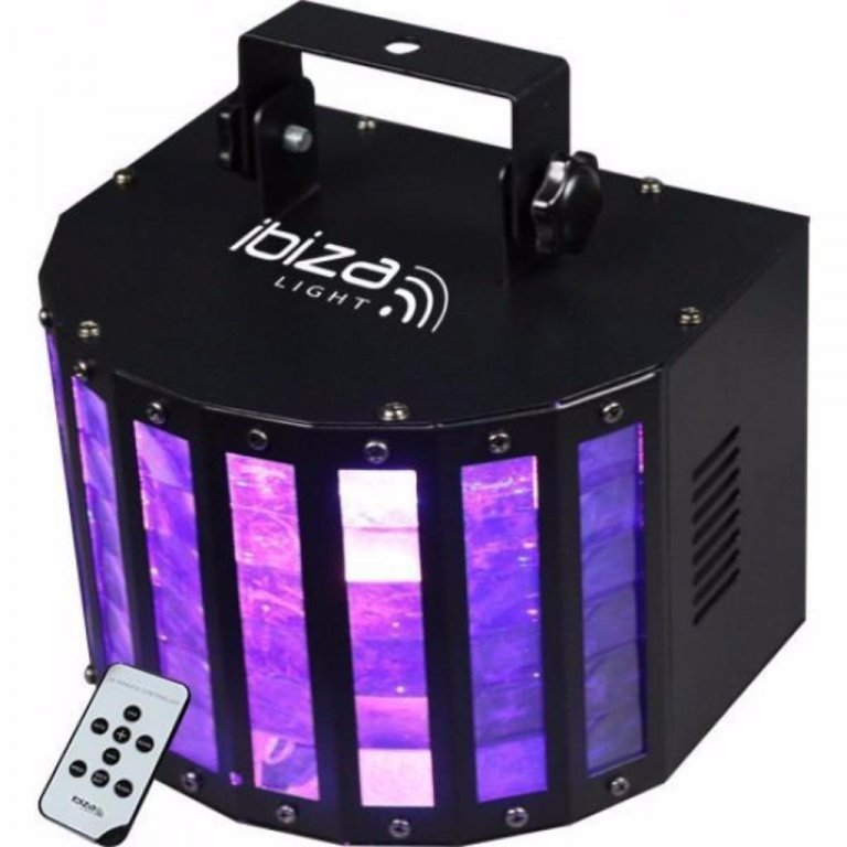 Ibiza-Light BUTTERFLY-RC 6 Kleurig LED (1386)