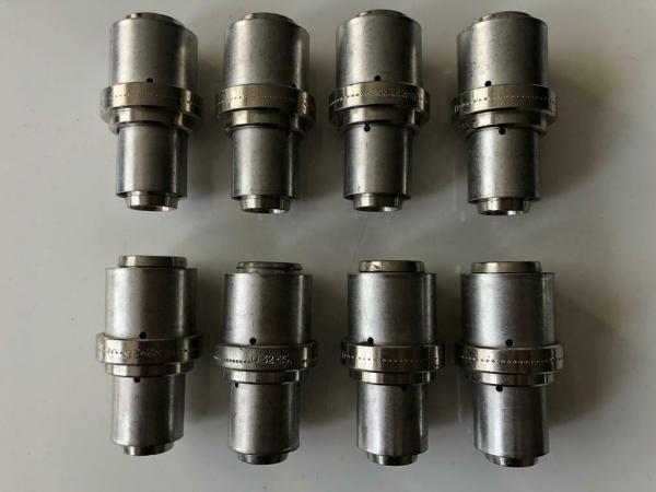 HENCO Pers sok METAAL 32 x 25 mm, (8 Stuks),