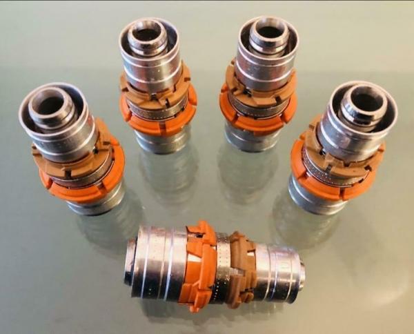 Uponor MLC Rechte koppeling Sok 20 x 16 mm (5 Stuks).