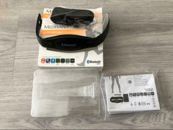 MEDISANA HEART RATE BELT MONITOR BLUETOOTH COMPATIBLE WITH F