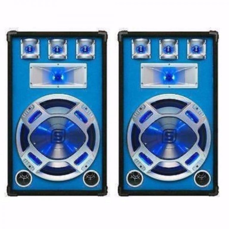 Disco speakers 15Inch 800Watt LED verlichting (506T)