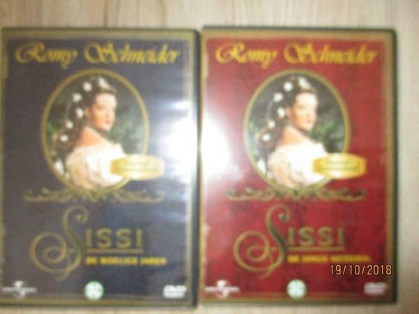 klassieker dvd`s, , 2 x sisi, 2 x alfred hitc