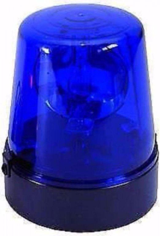 Zwaai lamp 220V met draaibare reflector blauw (012)