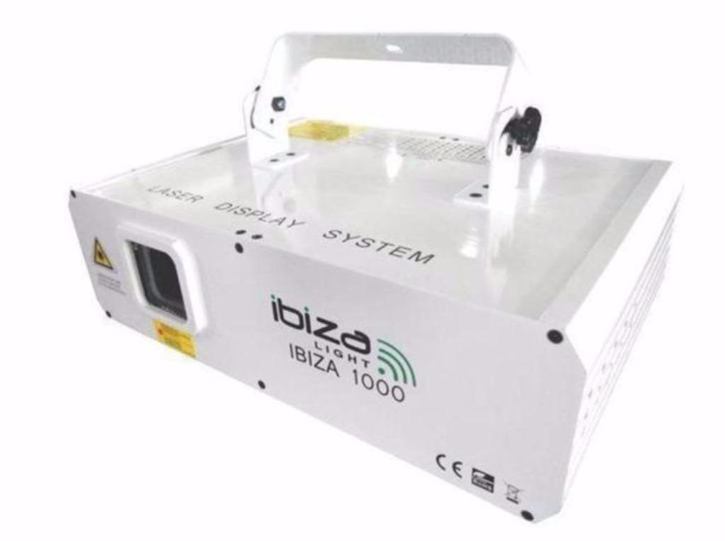 1 watt rgb laser met dmx en ilda (1156-b)