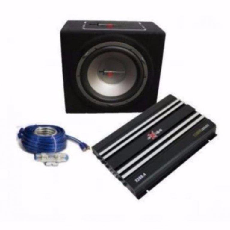 Complete Car Audio set EXCALIBUR X5 PACK