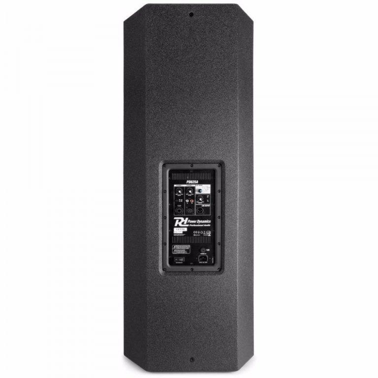 Power Dynamics PD625A Actieve Speaker 2 x15 inch 1600 Watt