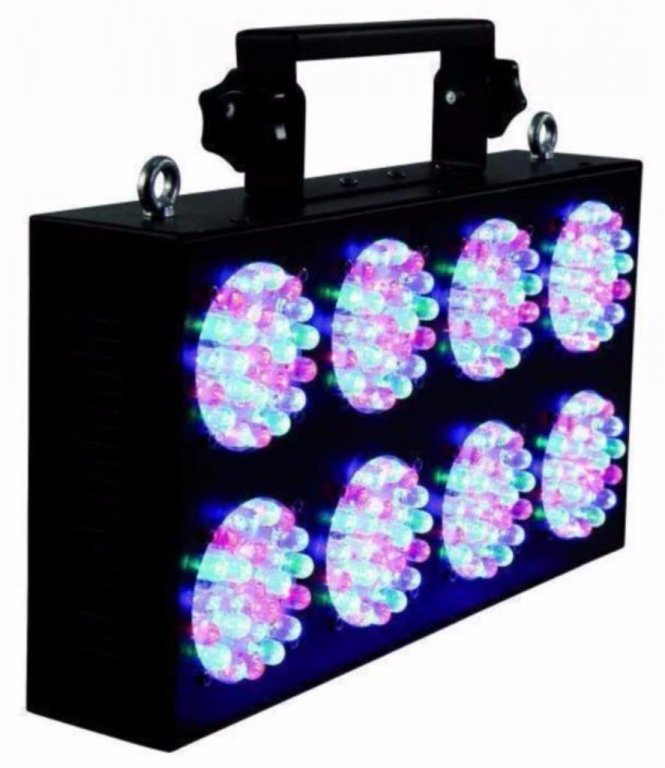 Dmx RGB Led Licht effect 8- Eyes (1075B)