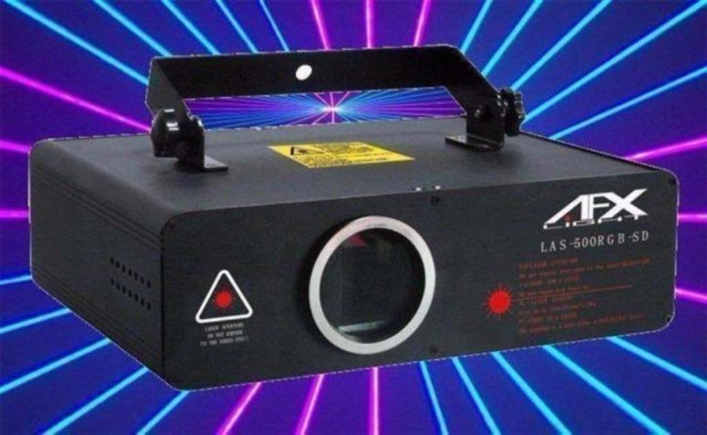 500MW RGB LASER Rood,Groen,Blauw programeerbaar (797-B)