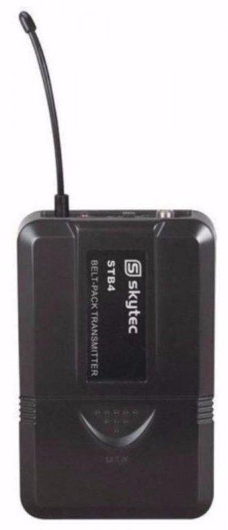Draadloze headset en draadloze microfoon (165-T)