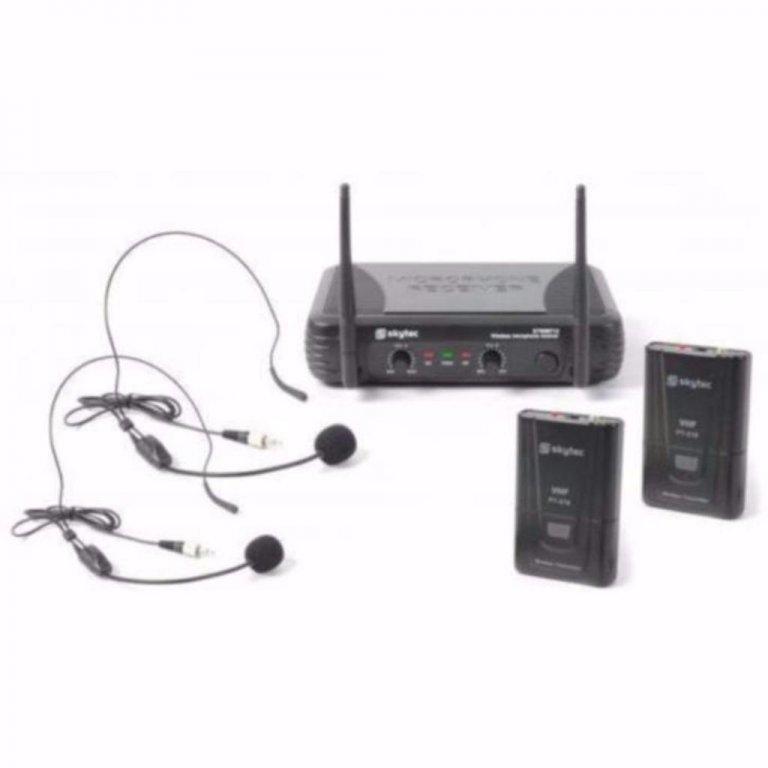 Draadloos Microfoon systeem met headsets (178-T)