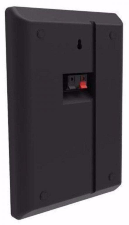 Slanke en extra platte muur speakers 2 x 60 Watt (038-B)