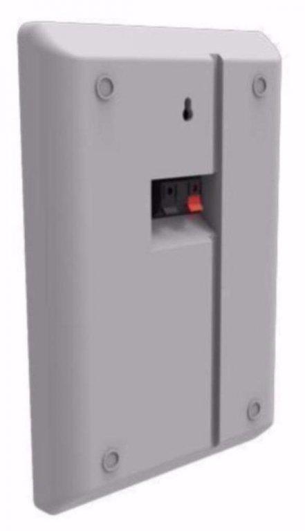 Slanke en extra platte muur speakers 2 x 60 Watt (037-B)