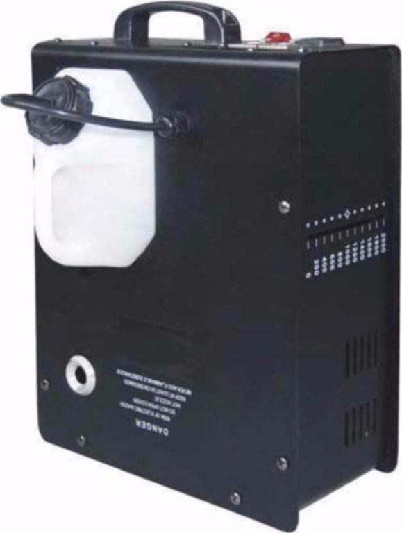 Rookmachine 1500 Watt met draadloze afstand bediening (106B.