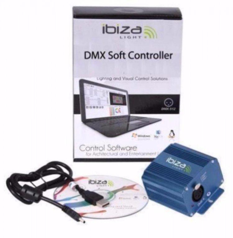 Sofware voor DMX diso verlichting met interface (1187-B)