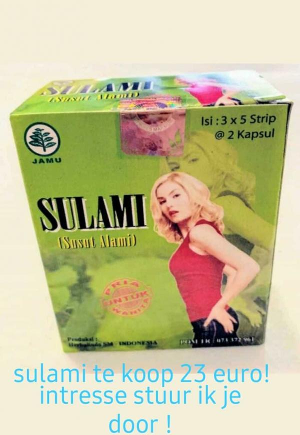 Afvallen met sulami