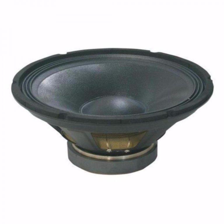 Beschrijving Bas speaker 38 Cm 300 Watt 8 Ohm  55 tot 3,5 kHz, 96