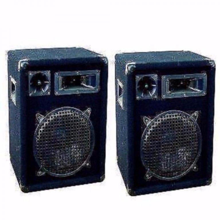 Disco speakers DJ-Pro 12Inch, 2 x 600Watt (246)