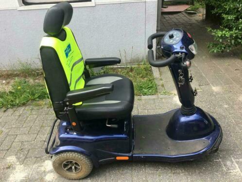 Scoot stoel blauw Travelux