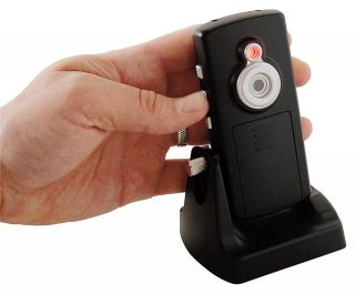 Camera met opname op SD kaart