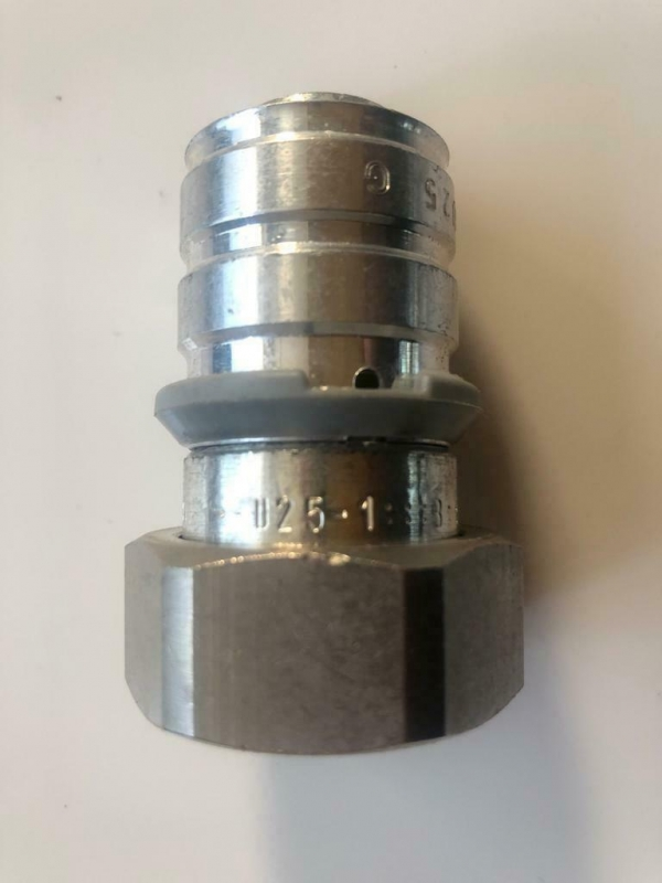 Uponor MLC pers schroefverbindings koppeling 25 x 1 MM