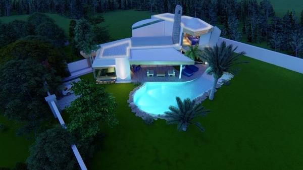 In Bodrum is de laatste 1 ultra luxe villa Te koop  (Turkije).