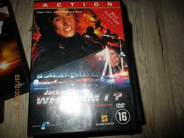 Dvd jackie chan`s who am i