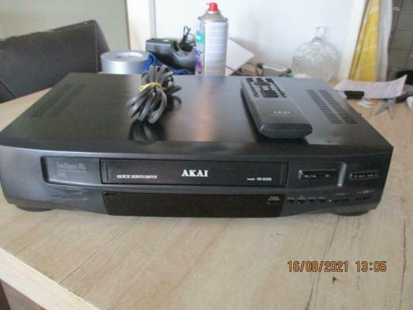 VHS recorder/speler Akai digitale auto tracking model VS-G20