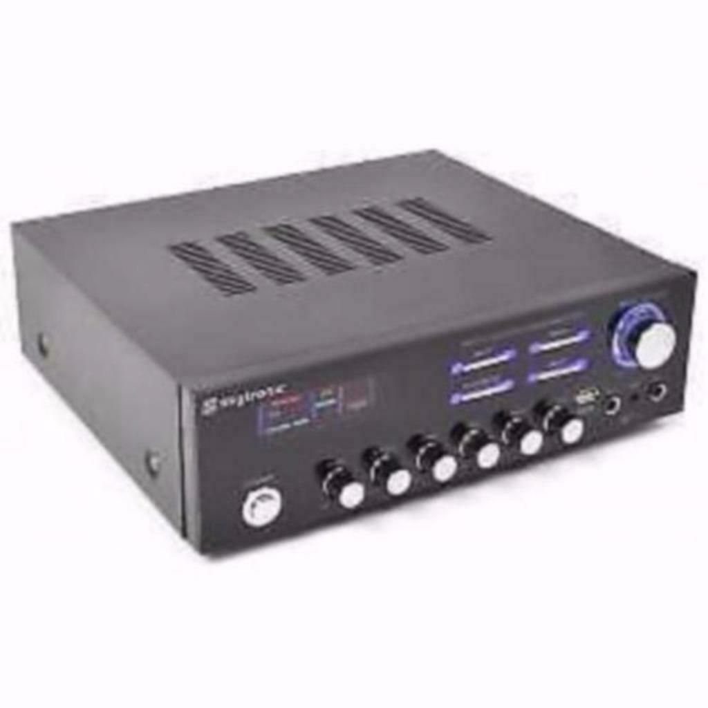 AV-120 Stereo Karaoke versterker MP3 Opruiming !!
