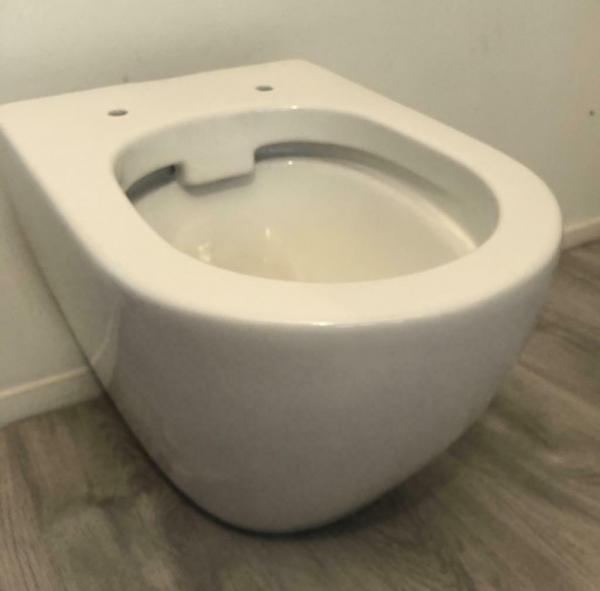 Atlantic Hampton ophang WC pot pack zonder bril (Nieuw !).