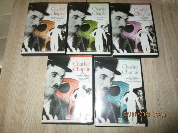 Klassieker 5 dvd boxen charlie chaplin origineel. Ned onder