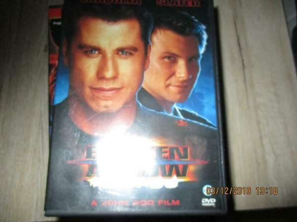 Dvd broken arrow john travolta