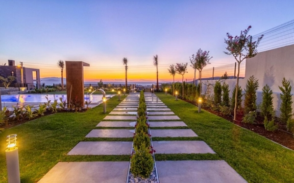 Volledig gemeubileerd uitzicht op zee Speciaal ontwerp Villa